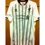 Camisa Do Liverpool Autografada Todo Elenco 2014/15