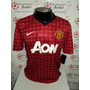 Camisa Manchester United Home 12-13 Kagawa 26 Patch Premier
