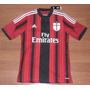 Camisa Adidas Milan Temporada 2014/2015 Tam. G 92 El Sharawy