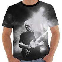 Camiseta Camisa David Gilmour Pink Floyd - Modelo 2