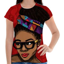Baby Look Afro Black Personalizada Sublimacao
