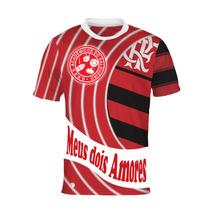 Camisa Meus Dois Amores - Salgueiro E Flamengo