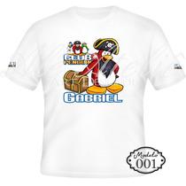 Camisa Camiseta Blusa Personalizada Disney Club Penguin