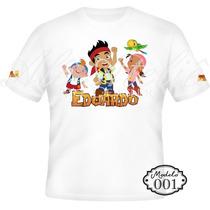 Camisa Camiseta Blusa Personalizada Jake E Os Piratas