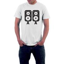 Camiseta Caixa De Som - Masculino E Feminino - Frete Grátis
