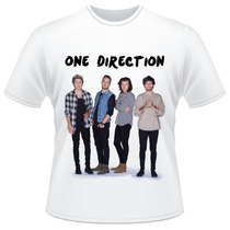 Camiseta Infantil One Direction 2015 Banda Camisa