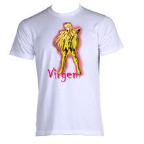 Camiseta Cdz Cavaleiros Do Zodiaco Signos Shaka De Virgem