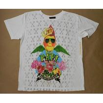 Camiseta Paco Chicano By Christian Audigier - Tam Gg