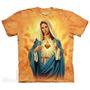 Camiseta Nossa Senhora Coracao De Maria - The Mountain