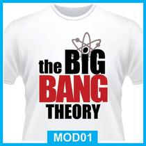 Camiseta The Big Band Theory, Seriados, Bazinga, Sheldon