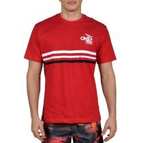 Camiseta Onbongo Oversize Slim Vermelha