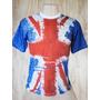 Camiseta Reino Unido 3 - Paint - Inglaterra