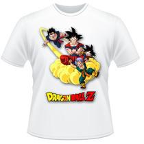 Camiseta Infantil Dragon Ball Z Anime Desenho Camisa #4