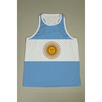 Camiseta Regata Nadador Masculina - Argentina