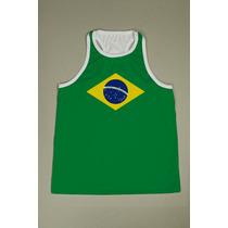 Camiseta Regata Nadador Masculina - Brasil