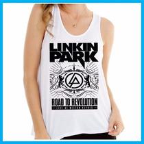 Regata Feminina Linkin Park, Rock, Banda, Música, Fashion