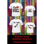 Kit Camisetas Blusas Camisa Mãe E Filho Ou Filha Dalsassu´s