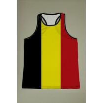 Camiseta Regata Nadador Masculina Bélgica