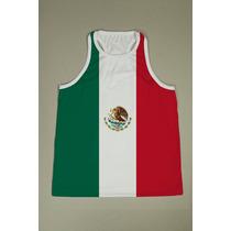 Camiseta Regata Nadador Masculina - México