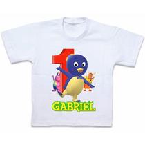 Roupas Blusa Camiseta Personalizada Backyardigans Pablo