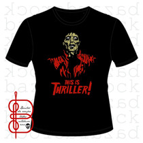 Camiseta Michael Jackson - Thriller