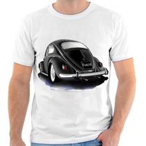 Camiseta De Fusca,carro,estampada 2