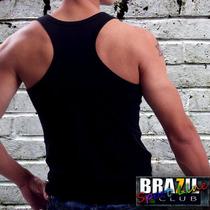 Camiseta Regata Nadador - Malha 100% Algodão - Qualidade
