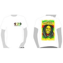 Camisetas Bob Marley - Money Cant Buy Life 4:20- Kaya, Ganja