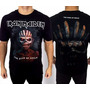 Camiseta De Banda - Iron Maiden - The Book Of Souls