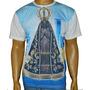 Camiseta Nossa Senhora Aparecida Novena Religiosa Católica