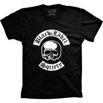 Camiseta Black Label Society Banda Heavy Metal Black Label