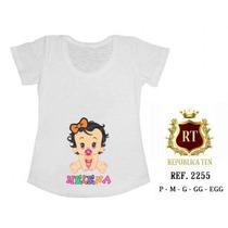 Camiseta Personalizada T Shirt Gravida Gestante Bebê Mamãe