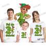 Kit Camiseta Peter Pan Aniversario Festa Kit Com 3