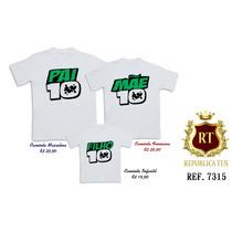 Camisetas Tal Pai 10 Tal Mãe 10 Tal Filha 10 Tal Filho 10