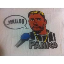 Rara Camiseta Engraçada Pânico Zina Ronaldo Ac Trocas