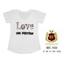 Camisetas One Direction De Bandas De Rock N