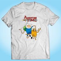 Camisa Adventure Time Hora Da Aventura Desenho Personalizada