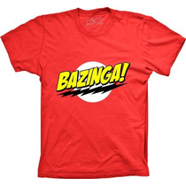 Camisetas Bazinga Seriado The Big Bang Theory Shaldon Tshirt