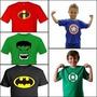 20 Camisas Blusa Infantil Personagens Atacado Revenda