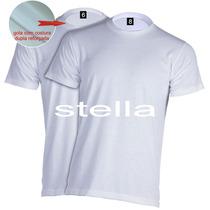 Camiseta Infantil Para Sublimação Branca 100% Poliéster