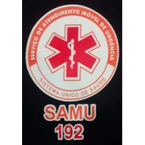 Camiseta Azul Samu + Nome E Grupo Sanguíneo Personalizado