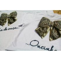 Camisetas Tal Mãe, Tal Filha Super Luxo Com Pérolas!!!