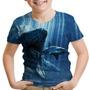Camiseta Infantil Filme Jurassic World Jurassic Park