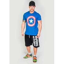 Camiseta Capitão America - Promoção!!!