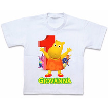 Roupas Camiseta Blusa Personalizada Backyardigans Tasha