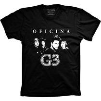 Camiseta Banda Oficina G3 Banda E Rock Gospel E Cristão