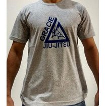 Camiseta Gracie Jiu Jitsu - Royce - Rickson Mma Muay Luta