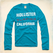 Camiseta Masculina Hollister Polos Blusa Frio Abercrombie