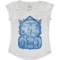 T-shirt Feminina Azulejo Português - Fr Fashion