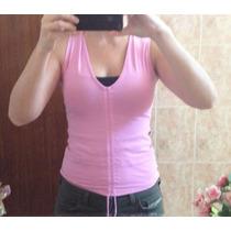 Camiseta Rosa Da Myth Tamanho P